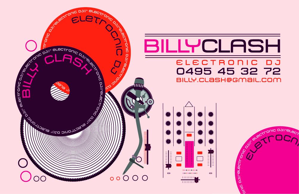 Carte De Visite DJ ELECTRO