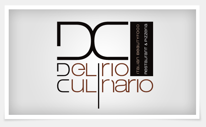 Extrêmement conception de logo pour un restaurant gastronomique italien  YE97