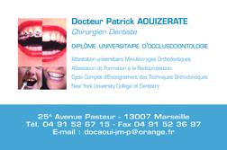 Realisation Dune Carte De Visite Pour Un Dentiste