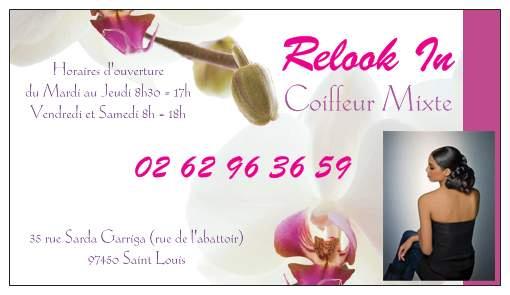 Carte De Visite Pour Salon Coiffure