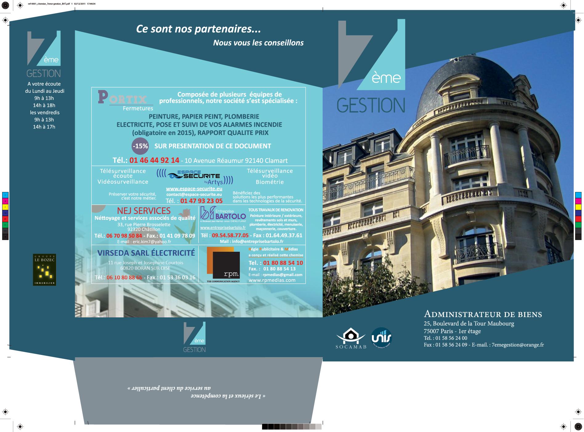 Préférence Creation de plaquette commerciale pour agence immobiliere NX16