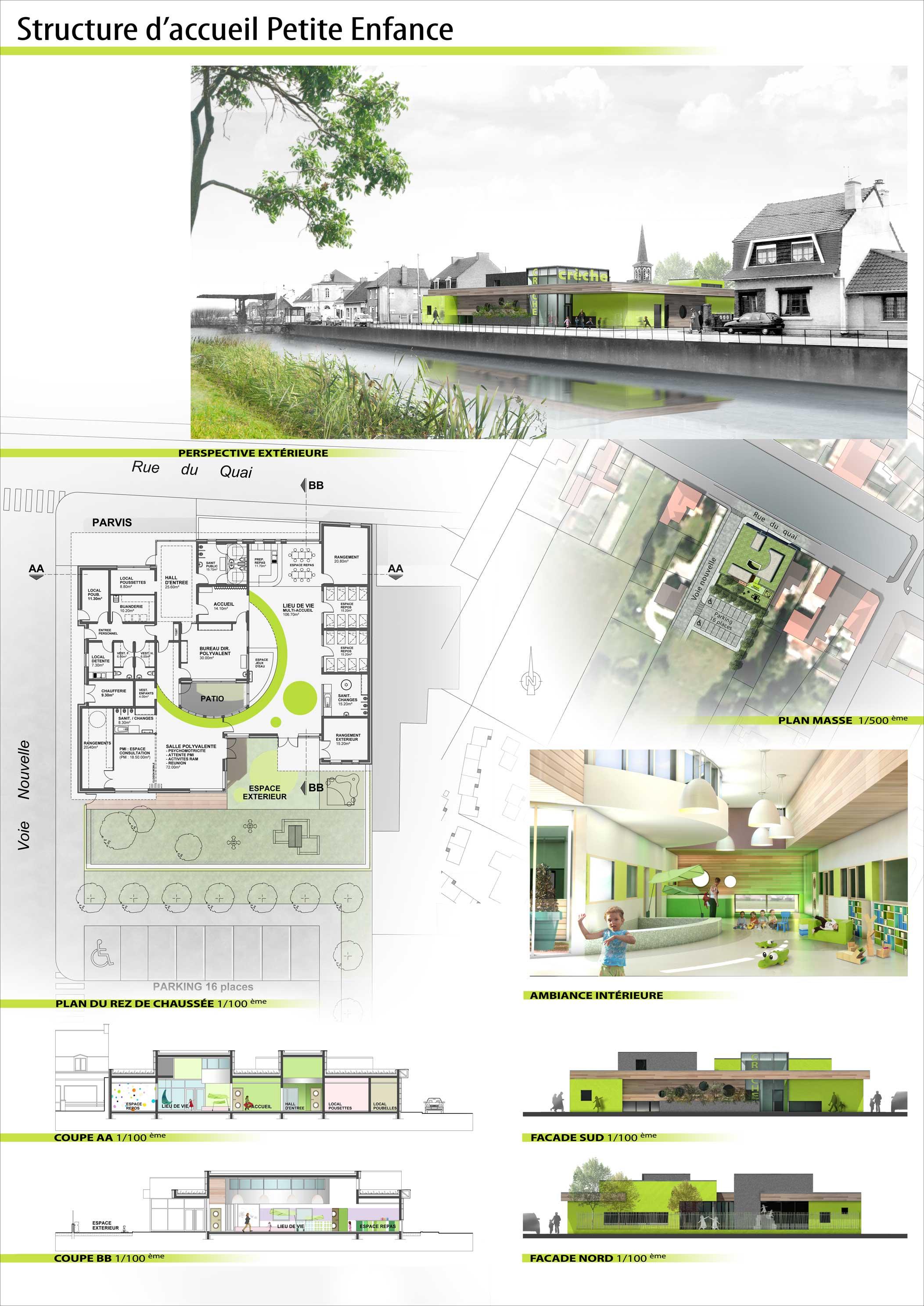 mise en page portfolio architecte zn74