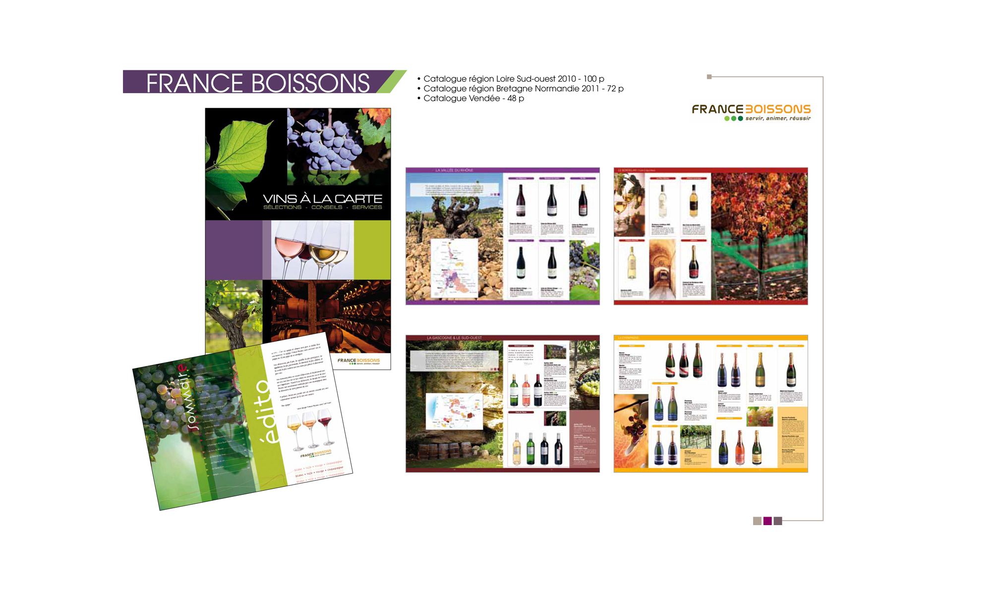 France boisson catalogue