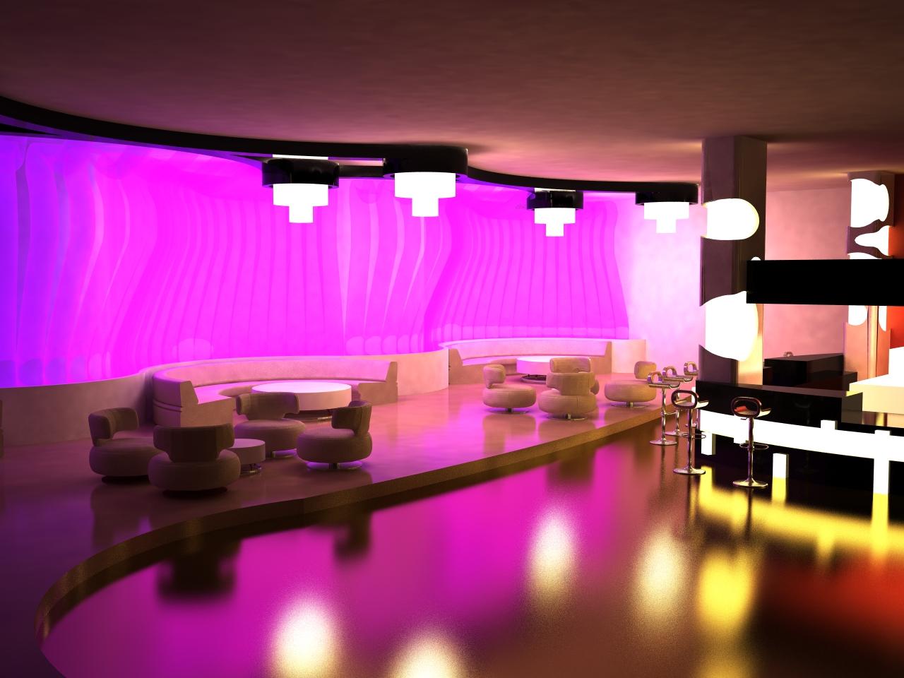 Boite de nuit lounge for Exterieur boite de nuit
