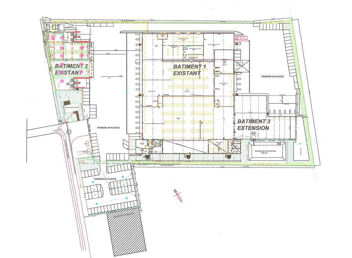 Permis de construire extension schwimmbad und saunen - Permis de construire extension ...