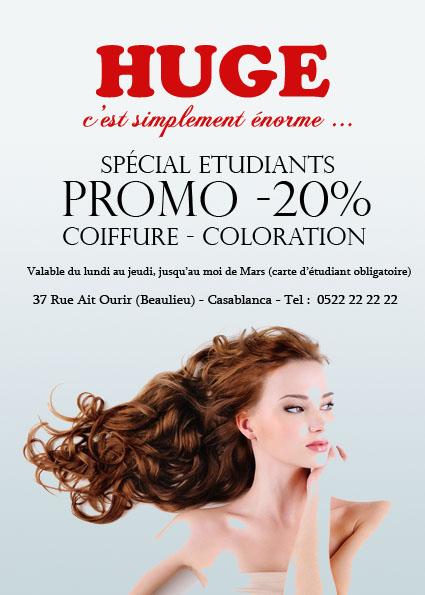 Célèbre Flyers pour un salon de coiffure sur Casablanca  MP82