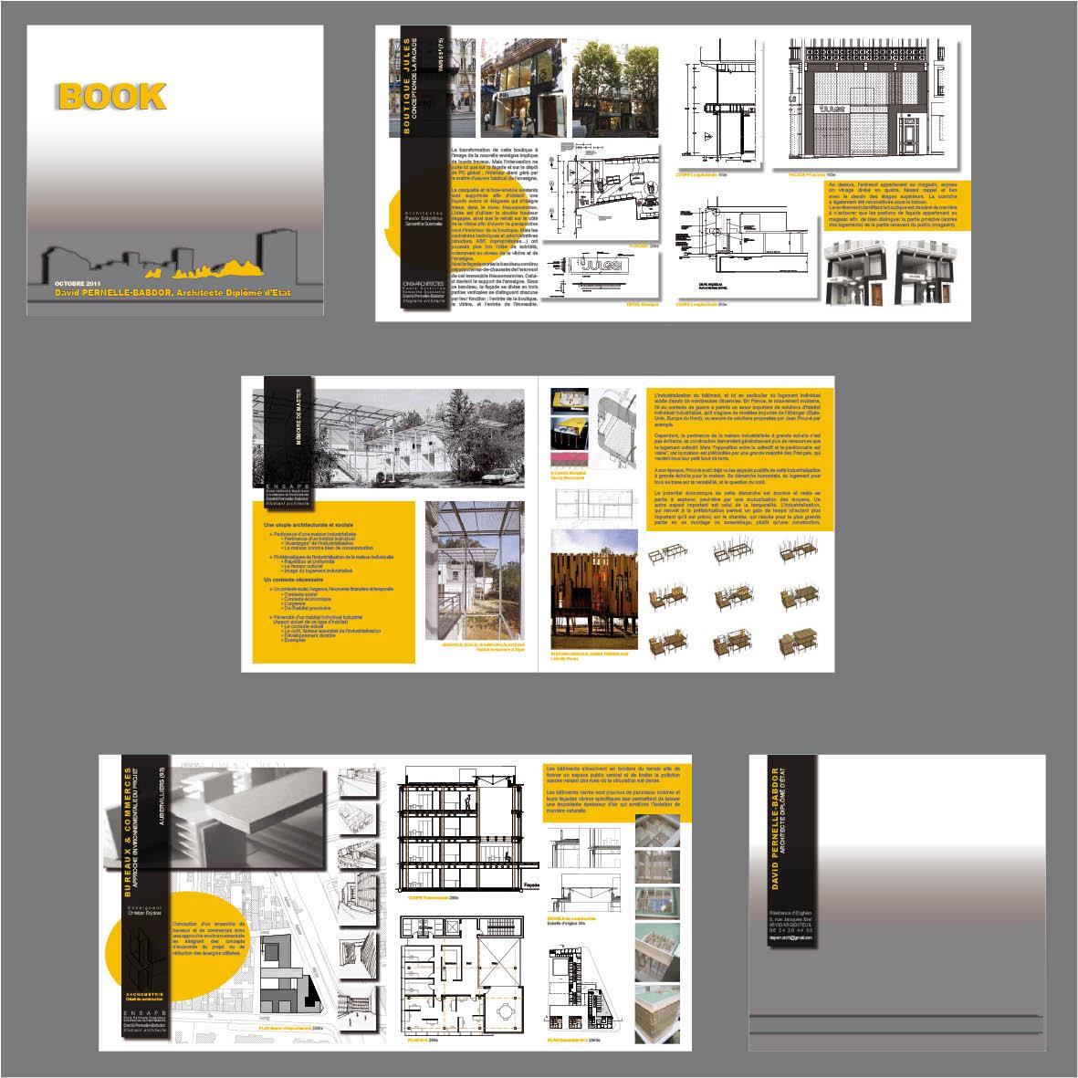 Architecture Portfolio Cover Book Covers Book Covers