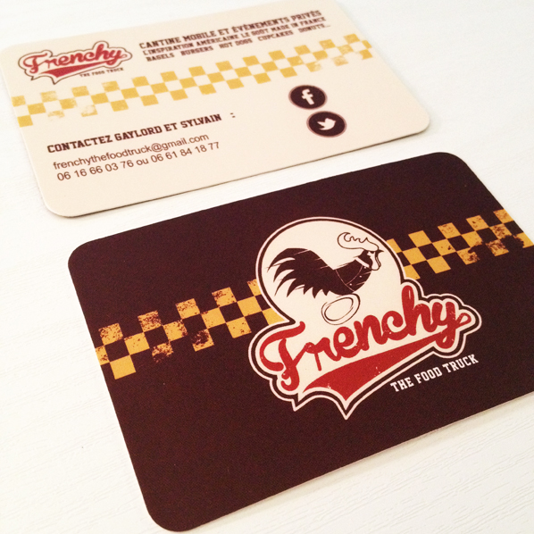 Frenchy The Food Truck Carte De Visite