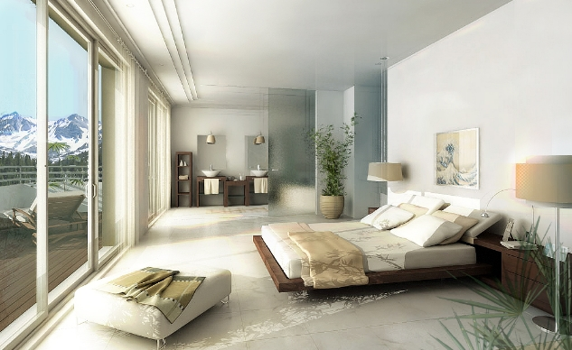 Interieur maison design chambre images for Design architecture interieur
