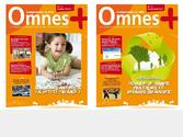 Journal trimestriel 16 pages du magazine OMNES de la ville d\