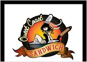 creation du logo de Ouest Coast Sandwich