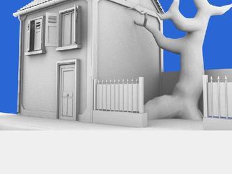 Mod lisation 3d maison for Modelisation maison 3d