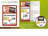 Campagne de marketing sur le point de vente : affiche, flyer, autocollant...