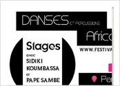 promotion stage danse africaine contemporaine